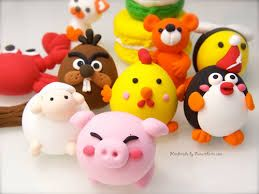 Image result for air dry clay animals