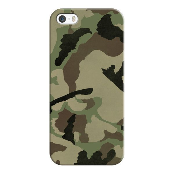 iPhone 6 Plus/6/5/5s/5c Case - CAMO PATTERN ($35) ❤ liked on Polyvore featuring accessories, tech accessories, iphone case, iphone cover case, slim iphone case and apple iphone cases