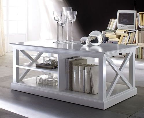 Coffee Table White - £678.00 - Hicks and Hicks