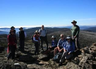 Hiking in the Victorian High Country