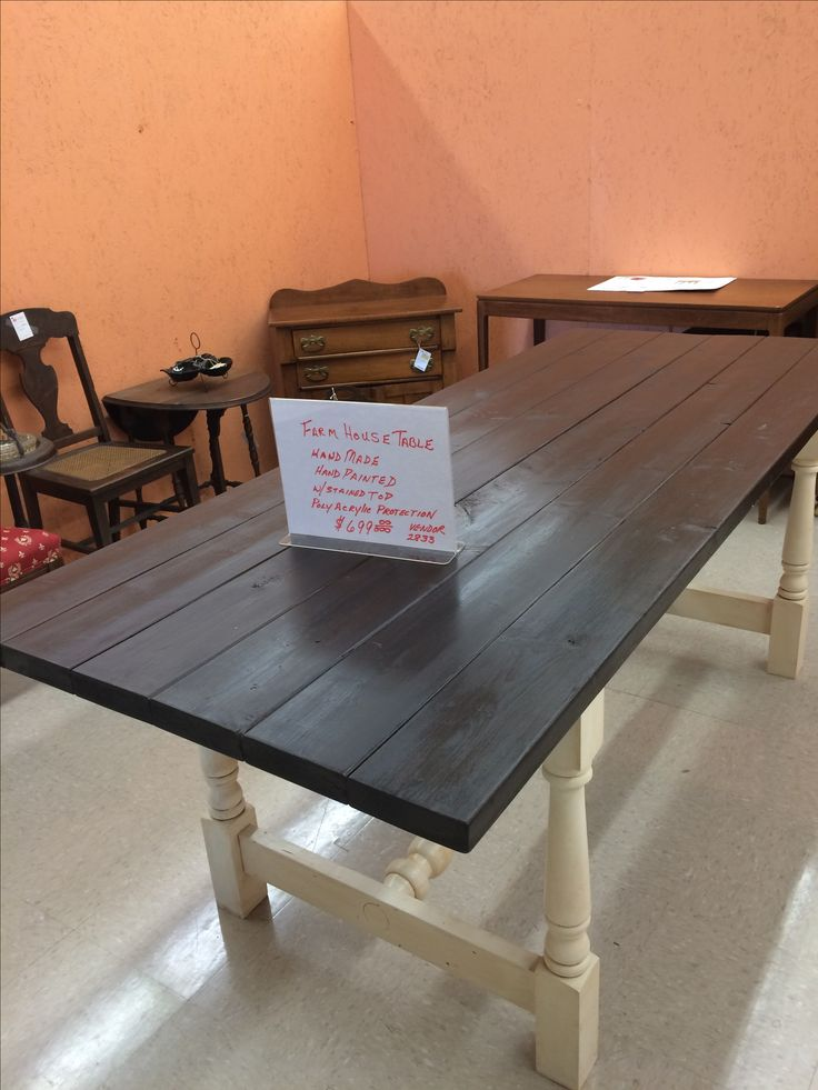 farm table for sale at west chester antque center open daily 108