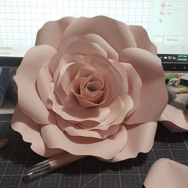 Pin On Flores De Papel