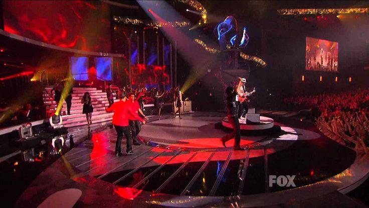 Adam Lambert and Carlos Santana   -  Smooth  -  Finale  -  20/05/09