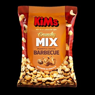 KiMs Crunchy Mix. Art Director Anna Just  graphic designer Michelle Hilden
