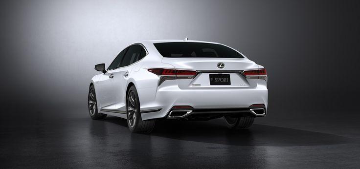 Lexus, yeni 2018 LS 500 F Sport'u ortaya çıkardı, bunun en ilgi çekici olduğunu belirtti