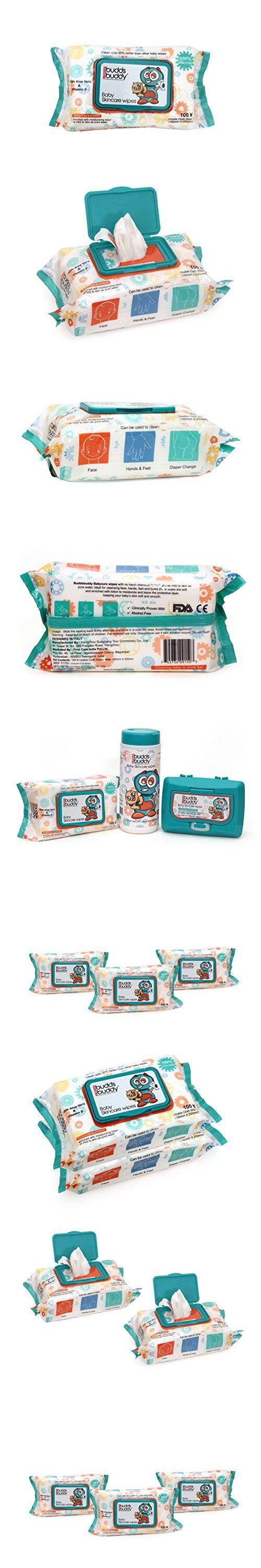 Buddsbuddy Baby Skin Care Wipes,100Pcs Combo Of 10Packs(1000 Count),Ninku (White)
