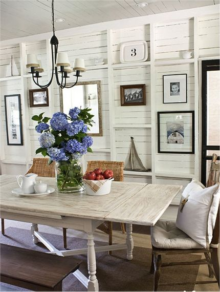 90 best Coastal Dining Rooms images on Pinterest | Coastal dining ...