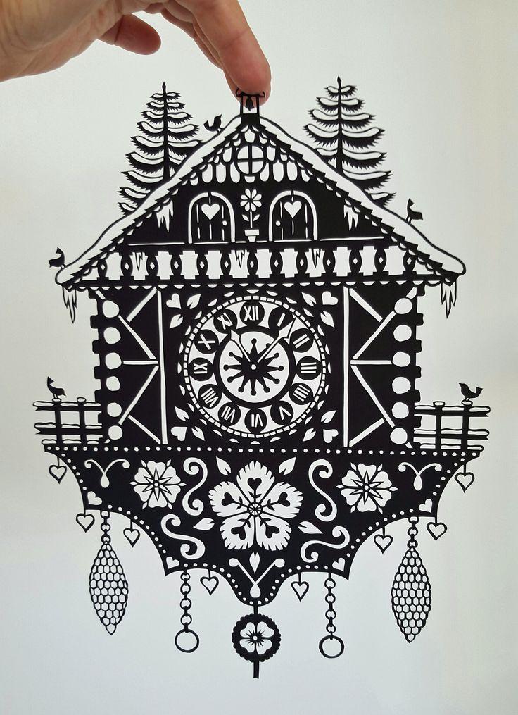 Papercut Cuckoo Clock | by VegasLammy