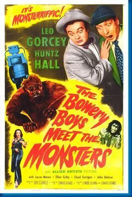 Bowery Boys Meet The Monsters, The Movie Poster 24inx36in