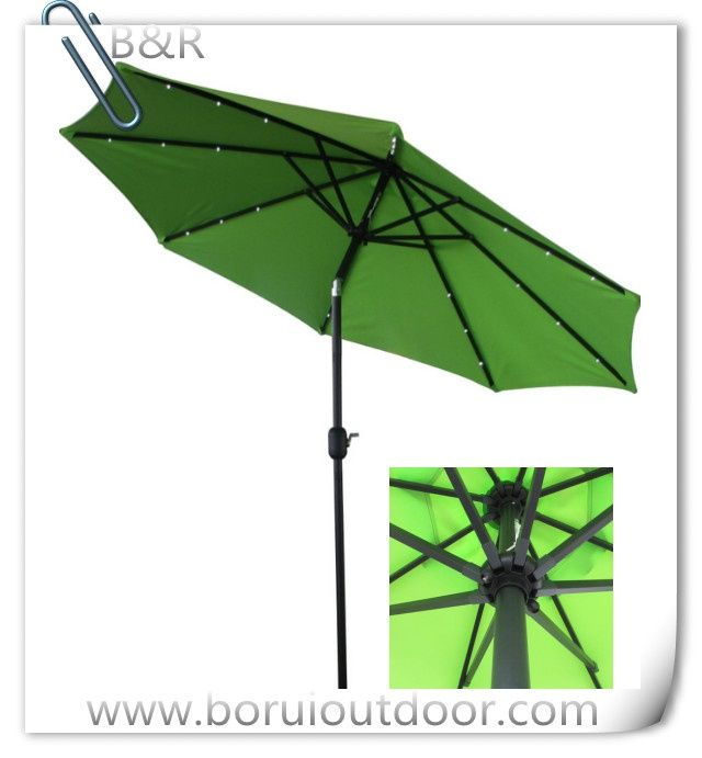 3m LED outdoor paraso for wholesale - umbrella and parsol supplyer