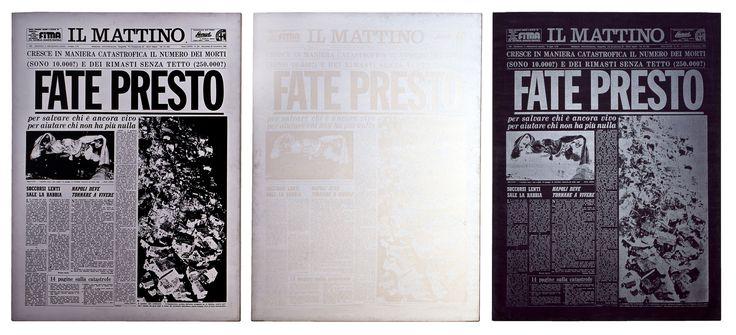 Andy Warhol, Fate Presto, 1981 - See more at: http://www.tripartadvisor.it/andy-warhol-pan-napoli/