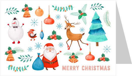 Design your Christmas Greeting Cards Online - Free Online Greeting Card Creator - Jukeboxprint.com
