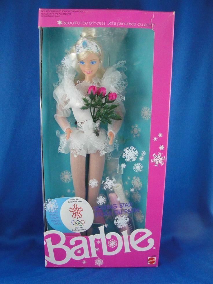 Image result for NRFB 1987 Skating Star Barbie