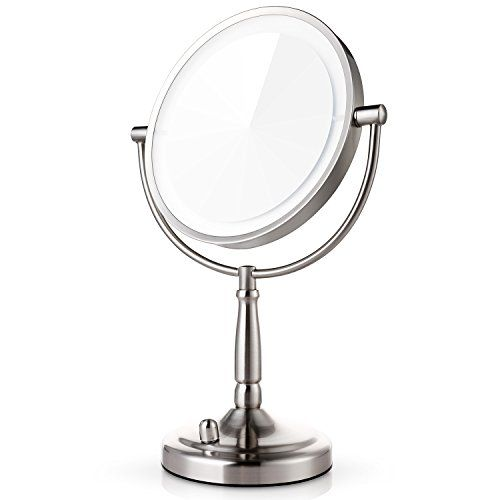 Miusco 7X Magnifying Lighted Makeup Mirror, 8 Inch Two Si... http://amzn.to/2vDsuGJ