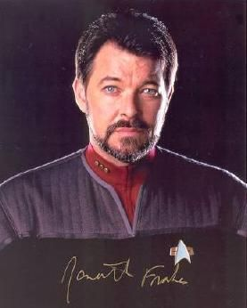 Jonathan Frakes was born in Bellefonte, PA.