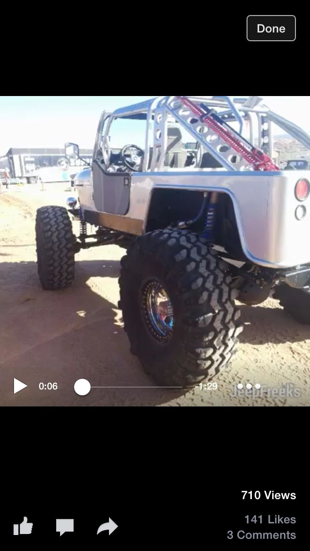 Lifted tj tubulAr roll cage and fenders