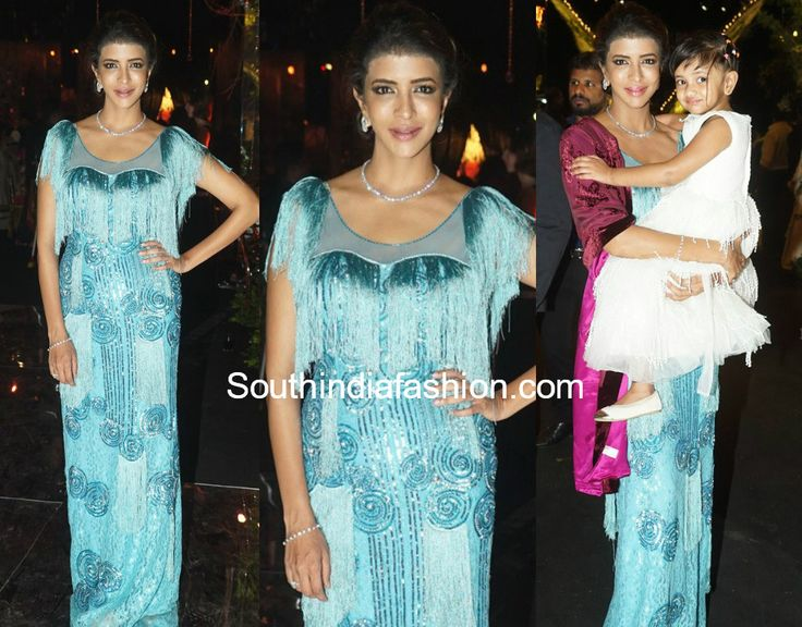 Lakshmi Manchu in Nazila Couture   Lakshmi Manchu attended Boinipally Srinivas daughter Hasinis Sangeet ceremony wearing a blue gown byNazila Sawhney. She finished off her look with diamond jewelry and pulled back hair-do!  The post Lakshmi Manchu in Nazila Couture appeared first on South India Fashion.  from South India Fashion http://www.southindiafashion.com/2017/11/lakshmi-manchu-nazila-couture.html via IFTTT South India Fashion