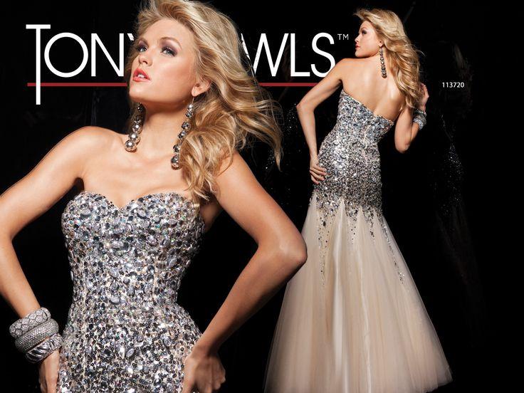 Tony Bowls Paris  »  Style No. 113720  »  Tony Bowls Prom 2013 available at Binns of Williamsburg