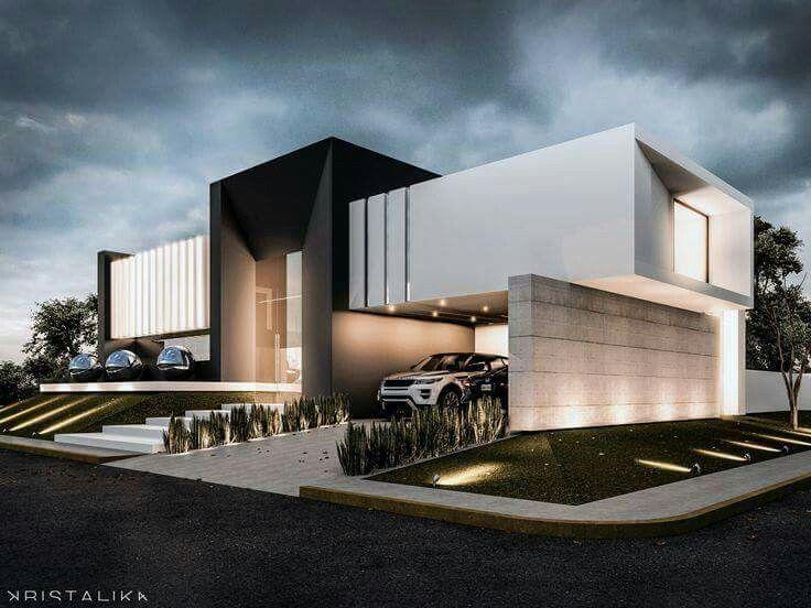 Las 25 mejores ideas sobre fachadas minimalistas en Best contemporary house design
