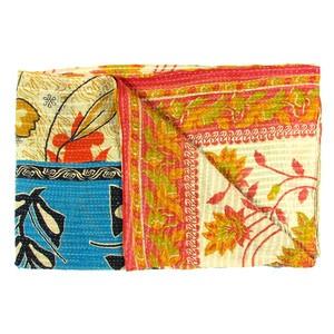 Vintage Sari Throw Tuni now featured on Fab.