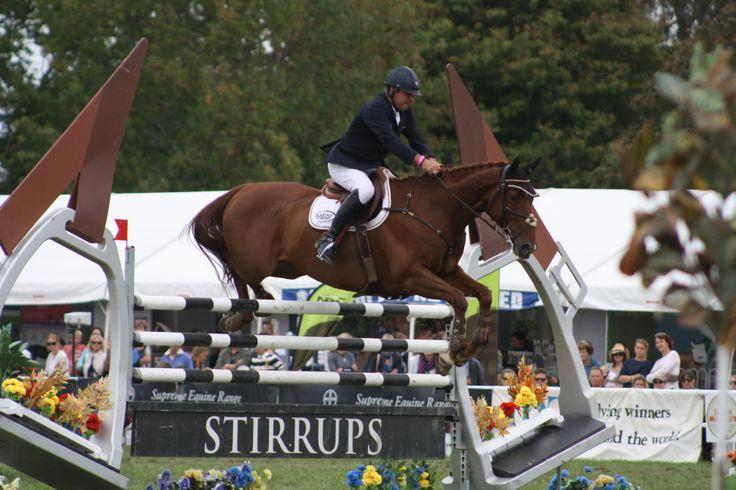 Belgium's Phillipe le Jeune rides Dunstan Kiwi Iron Mark in the Olympic Cup
