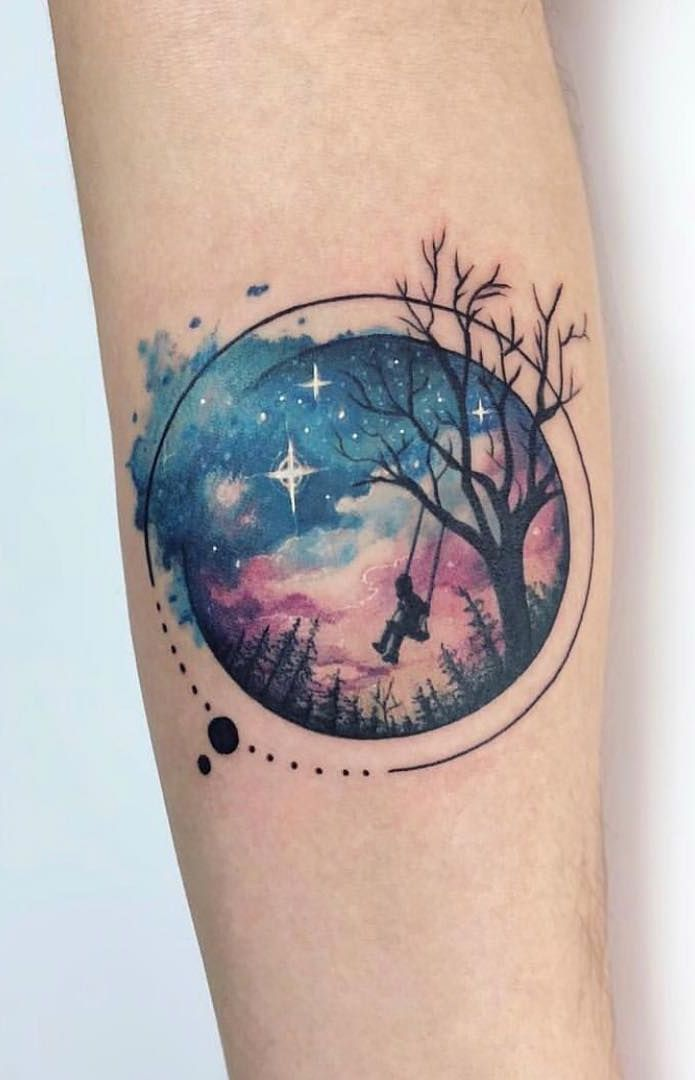 50 Gorgeous And Meaningful Tree Tattoos Inspired By Nature S Path