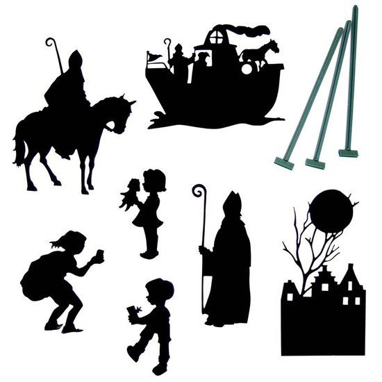 Schaduwspel Sinterklaas - De Oude Speelkamer