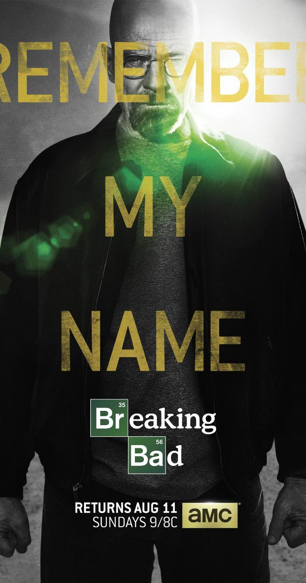 "Breaking Bad (TV Series 2008–2013) - ""Only seen Season 1 so far (marathon on Netflix), but OMG, I can't believe I let this show pass me by. Thank God for Netflix instant streaming. I am officially hooked. The writing, the characters, the premise, the acting. And did I mention the soundtrack?!? ... Best. Show. EVER!"""