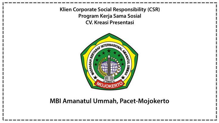 CSR MBI Amanatul Ummah Pacet-Mojokerto