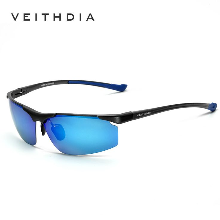 Veithdia Aluminum Magnesium Men's Rimless Sunglasses Polarized Blue Coating Mirror Sun Glasses Eyewear Accessorie For Men shades  #belts #money #sunshades #accessories #bags #gloves #style #sexyshoes #fashionweek #followme #wedding #wallets #mensfashion #sale #love