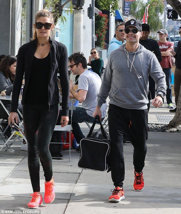 Ryan Seacrest and 'girlfriend' Shayna Taylor go to gym together