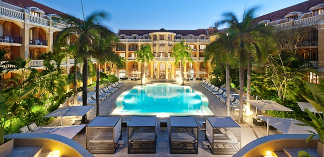 Tablet's Private Sale on Hotels - Sofitel Santa Clara in Cartagena