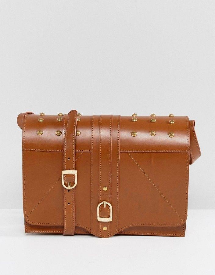 Park Lane Leather Across Body Bag
