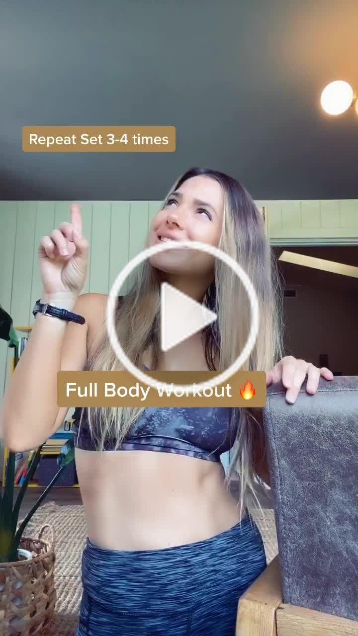 Alexandrakay Alexandrawille On Tiktok Day 3 Full Body Work Out Guaranteed To Make You Sweat Indoorworkout Full Body Workout Fitness Body Indoor Workout