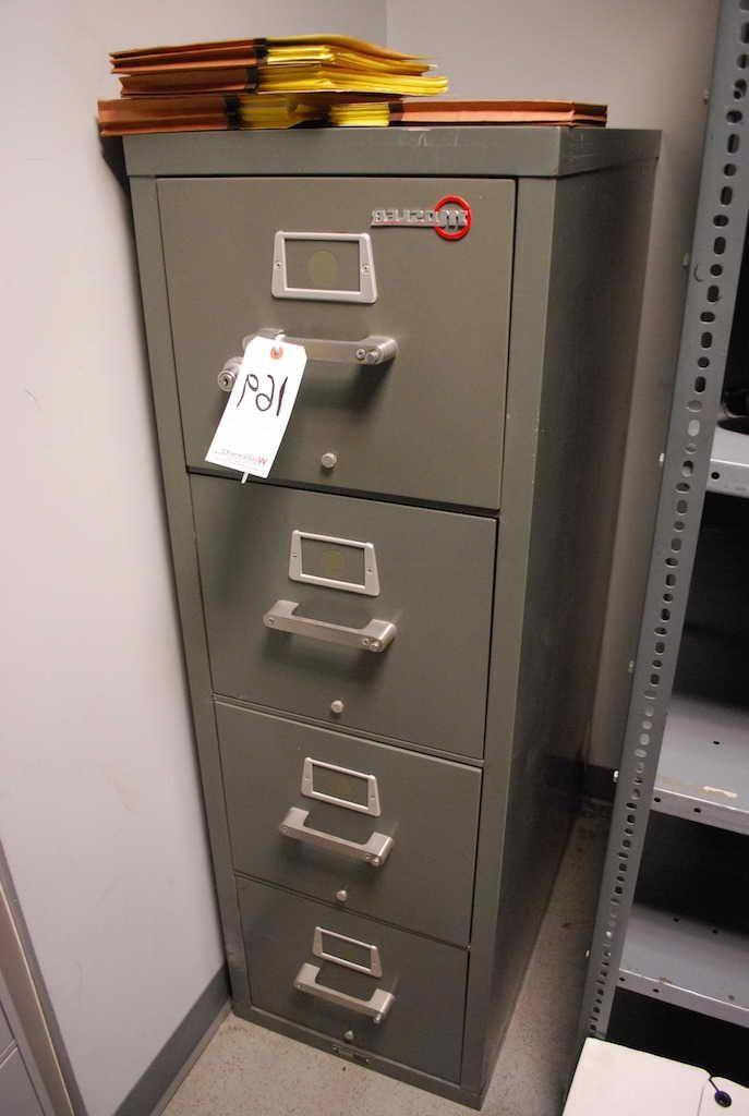 Mosler Fireproof File Cabinet