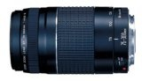 Canon EF 75-300mm f/4-5.6 III Telephoto Zoom Lens for Canon SLR Cameras - Canon EF 75-300mm f/4-5.6 III Telephoto Zoom Lens for Canon SLR Cameras    75-300mm telephoto zoom lens with f/4-5.6 maximum aperture for Canon SLR camerasImproved mechanism ma