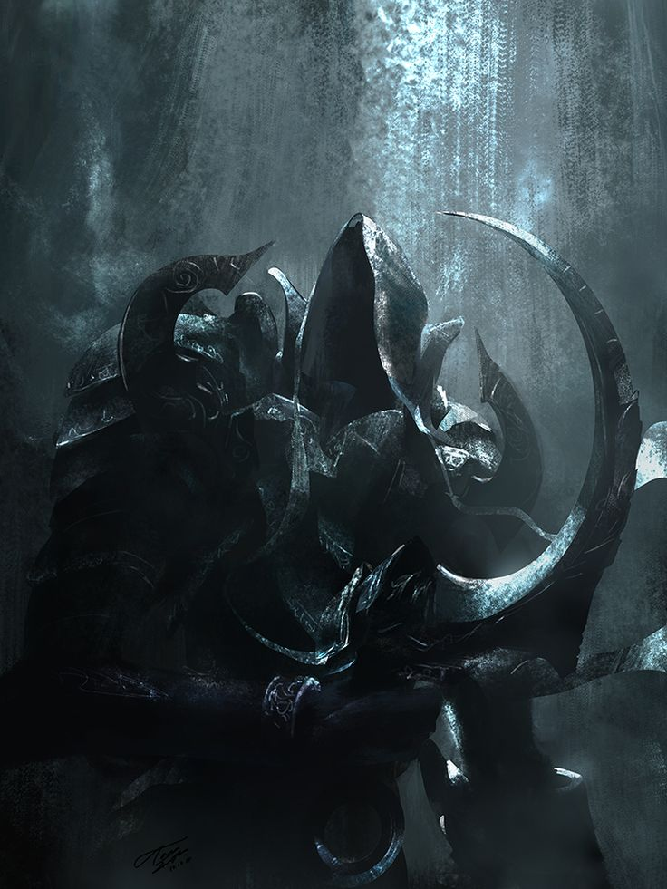 Malthael, once the Archangel of Wisdom, now the Archangel of Death.
