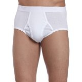 Dockers Men's 4 Pack Fly Front Full Rise Brief (Apparel)By Dockers
