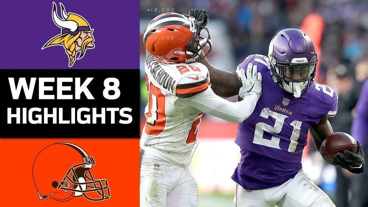 Vikings vs. Browns | NFL Week 8 Game Highlights - NFL News Videos