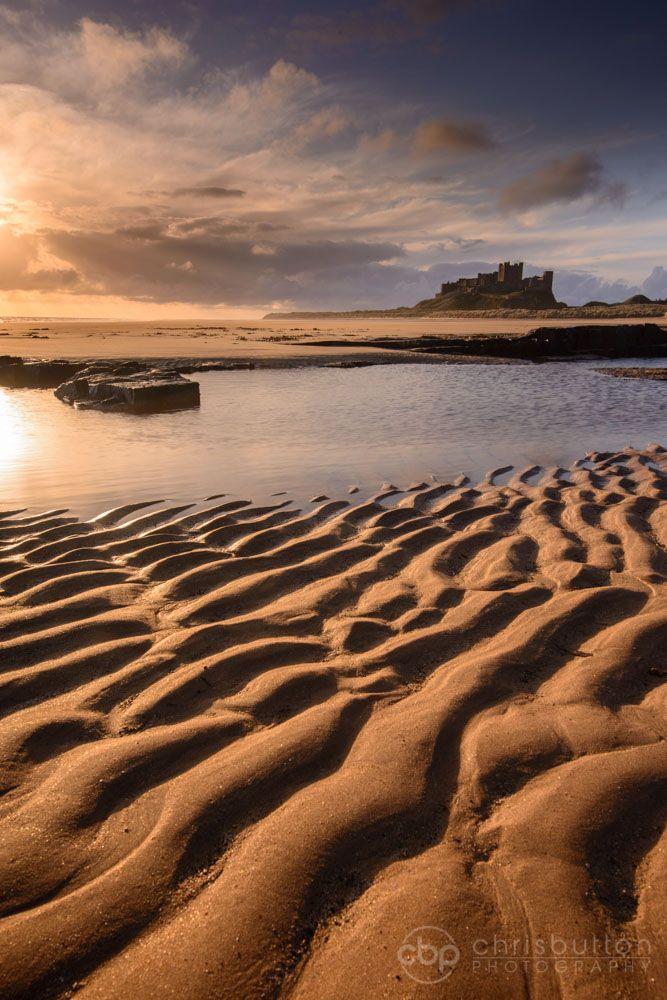 Norman Bamburgh Castle, Northumberland, England