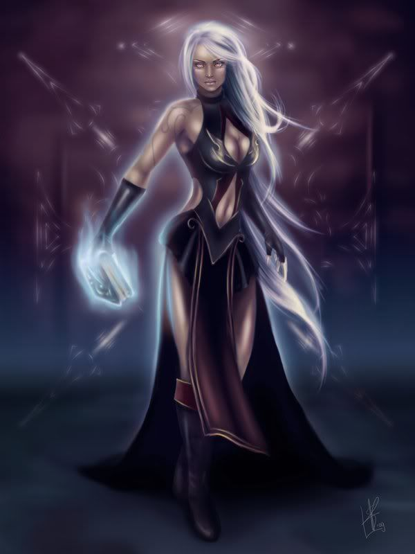 silver haired elf - Google Search | Winter Elves ...