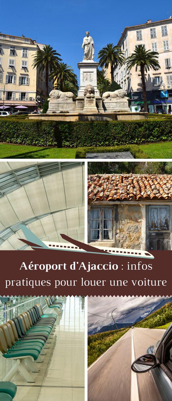 Voici nos conseils pour louer une voiture à la sortie de l'aéroport d'Ajaccio. #Corse #Voyage #RoadTrip #Location #Voiture #Ajaccio