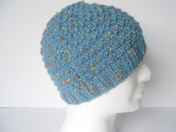 Men's Beanie Cap. Knit Men's Beanie. Winter hat by AluraCrafts