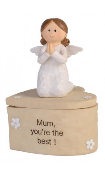 Adoring Angel Trinket Box - Mum