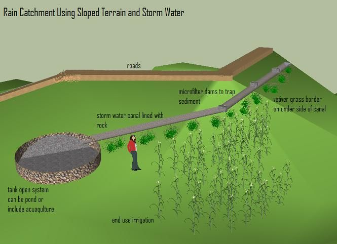 78 best rainwater harvesting catchment images on for Design of water harvesting pond