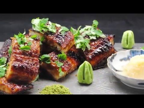 How To grill An Eel - Grilled Eel Recipe - Japanese Food - YouTube