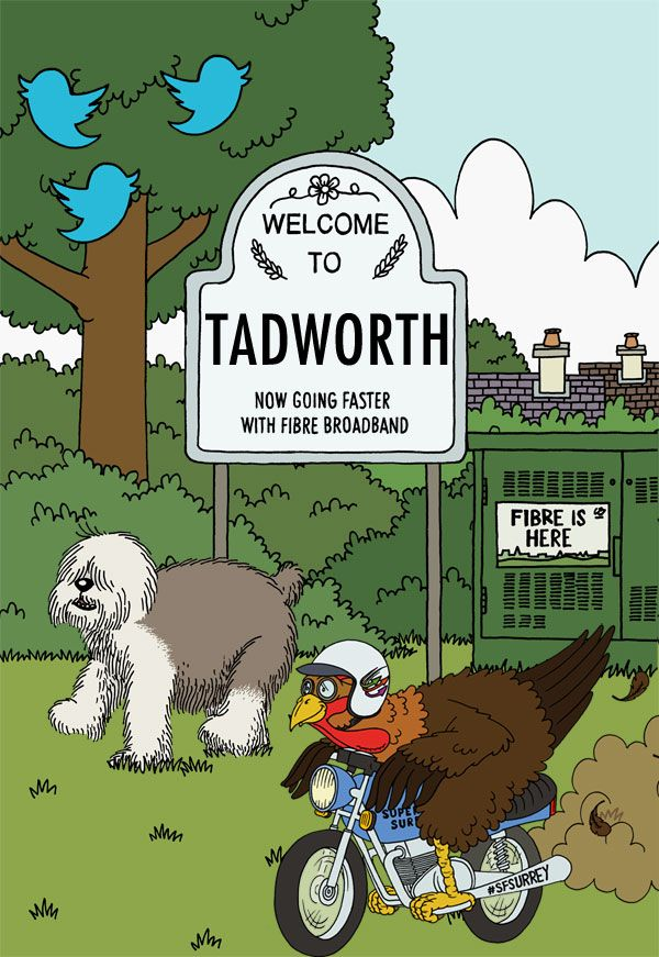 Living in Tadworth, Surrey? Time to check for fibre broadband availability - Superfast Surrey