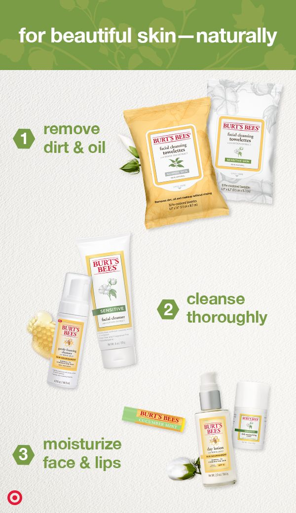 Burt S Bees Skin Care Products Are The Natural Way To Put Your Best Face Forward From Wipes To Cleanse Best Face Products Skin Care Remedies Natural Skin Care