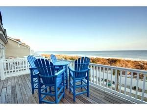 Topsail Island rental: 314 Sea Star Village - Second Row 4 bedroomstownhome in Surf City,  New Years