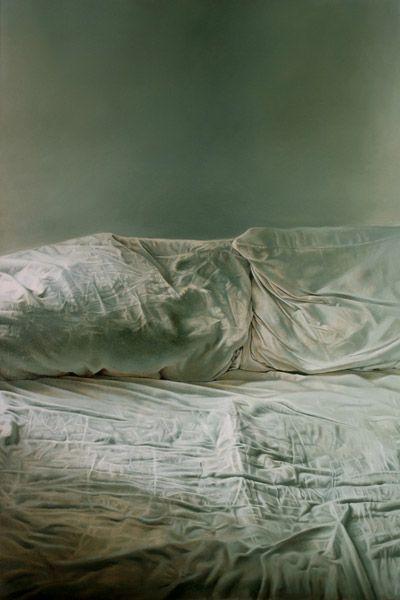 Helen Masacz | 'Empty Bed', 2011 | oil on board